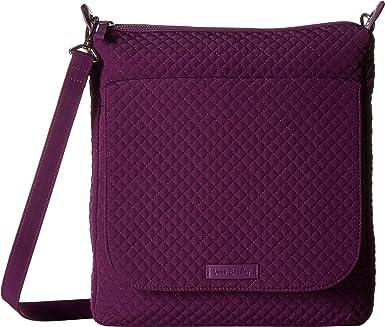 Amazon.com  Vera Bradley Women s Carson Mailbag Daisy Dot Paisley One Size   Clothing ae53a5a79