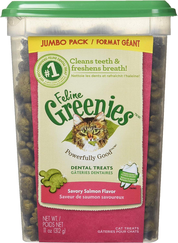 FELINE GREENIES Natural Dental Care Cat Treats 11 oz