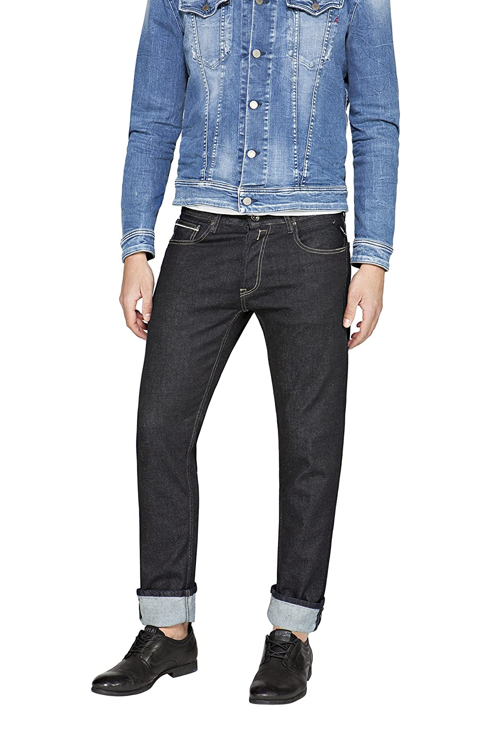 Replay Grover, Jeans Hombre
