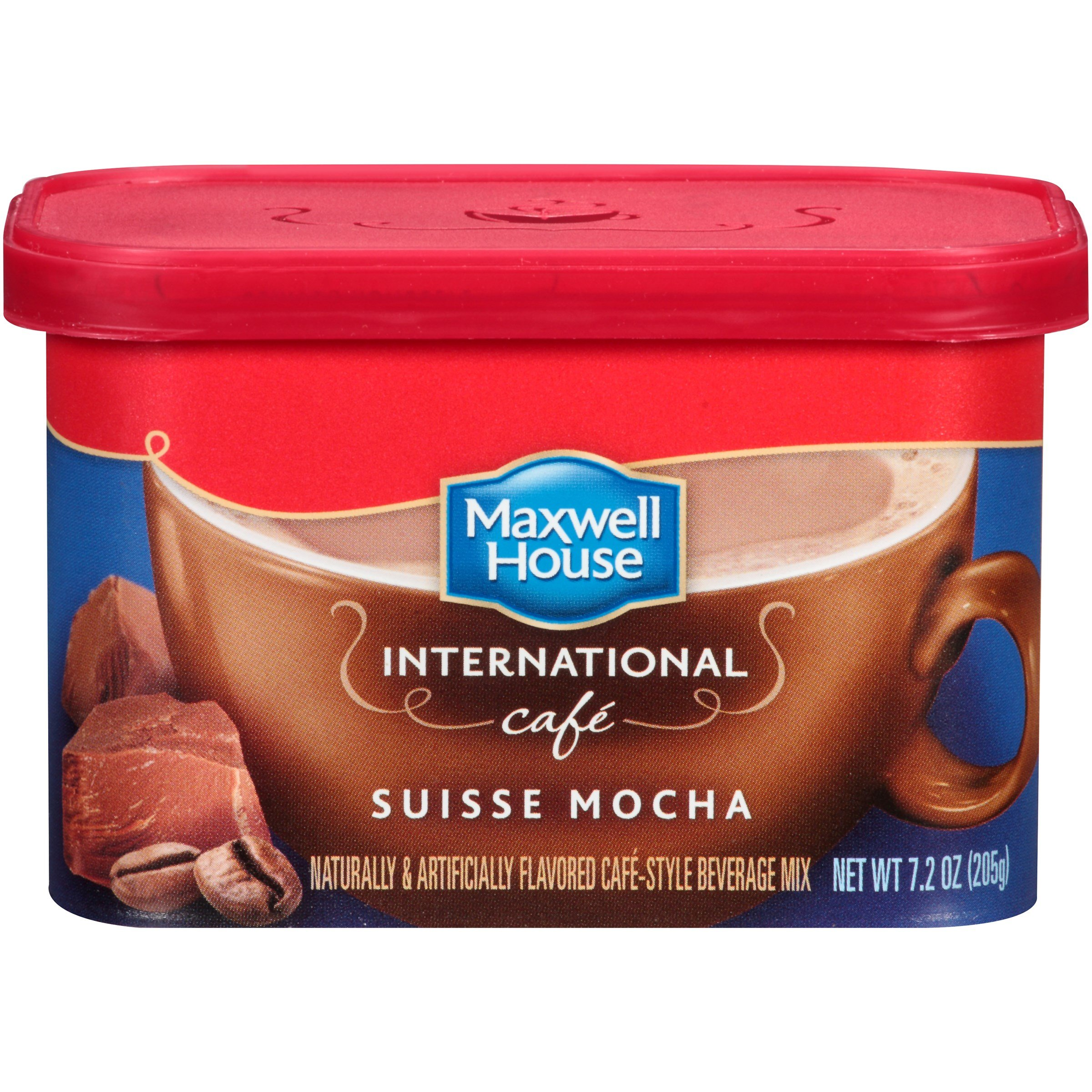 Maxwell House Suisse Mocha 7.2 Oz, Pack of 16