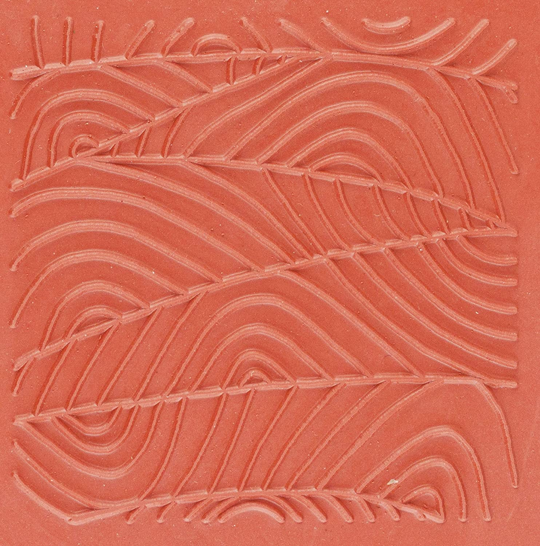 Jewelry Artist Supply Wandering Paths Texture Mat - 3 X 3 5226256