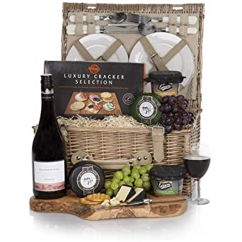 Luxury Food and Wine Traditional Hamper - Luxury Gift Hampers & Food Gifts Selection - Free