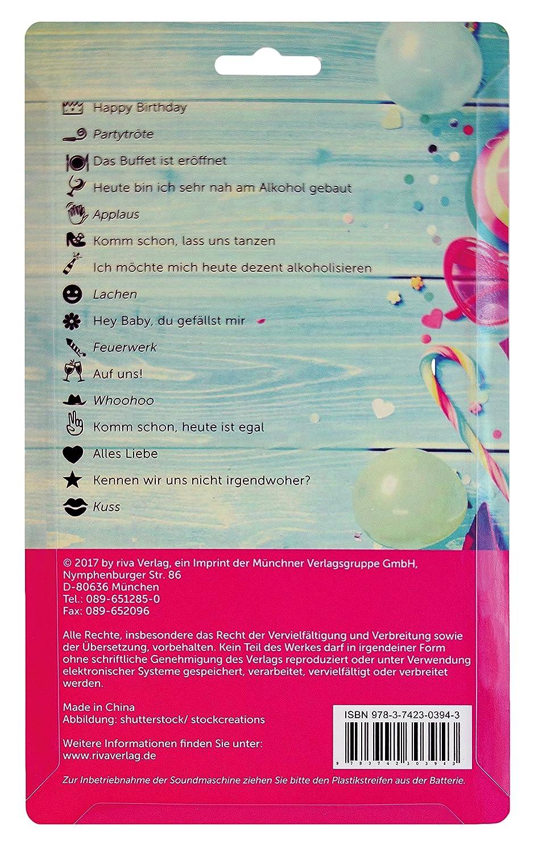 riva Verlag Das Buffet ist eröffnet – die Partymaschine 9783742303943 Feier / Party Non Books Non-Books