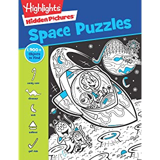 Space Puzzles (Highlights(TM) Hidden Pictures®)