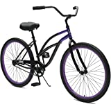 "Critical Cycles Chatham-1 Women's Beach Cruiser 26"" Single-Speed"