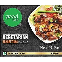 GoodDot Veg Achari Tikka - Pack of 1