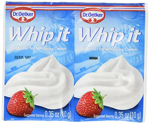 Amazon Com Dr Oetker Whipped Cream Stabilizer 2 10 G Food Decorating Tools Grocery Gourmet Food