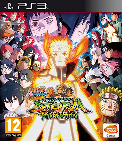 Naruto Shippuden Ultimate Ninja Storm Revolution - Day-One ...