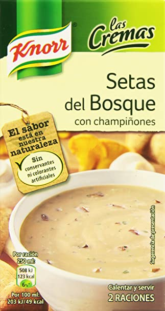 Knorr - Crema Setas Bosque, 500 ml