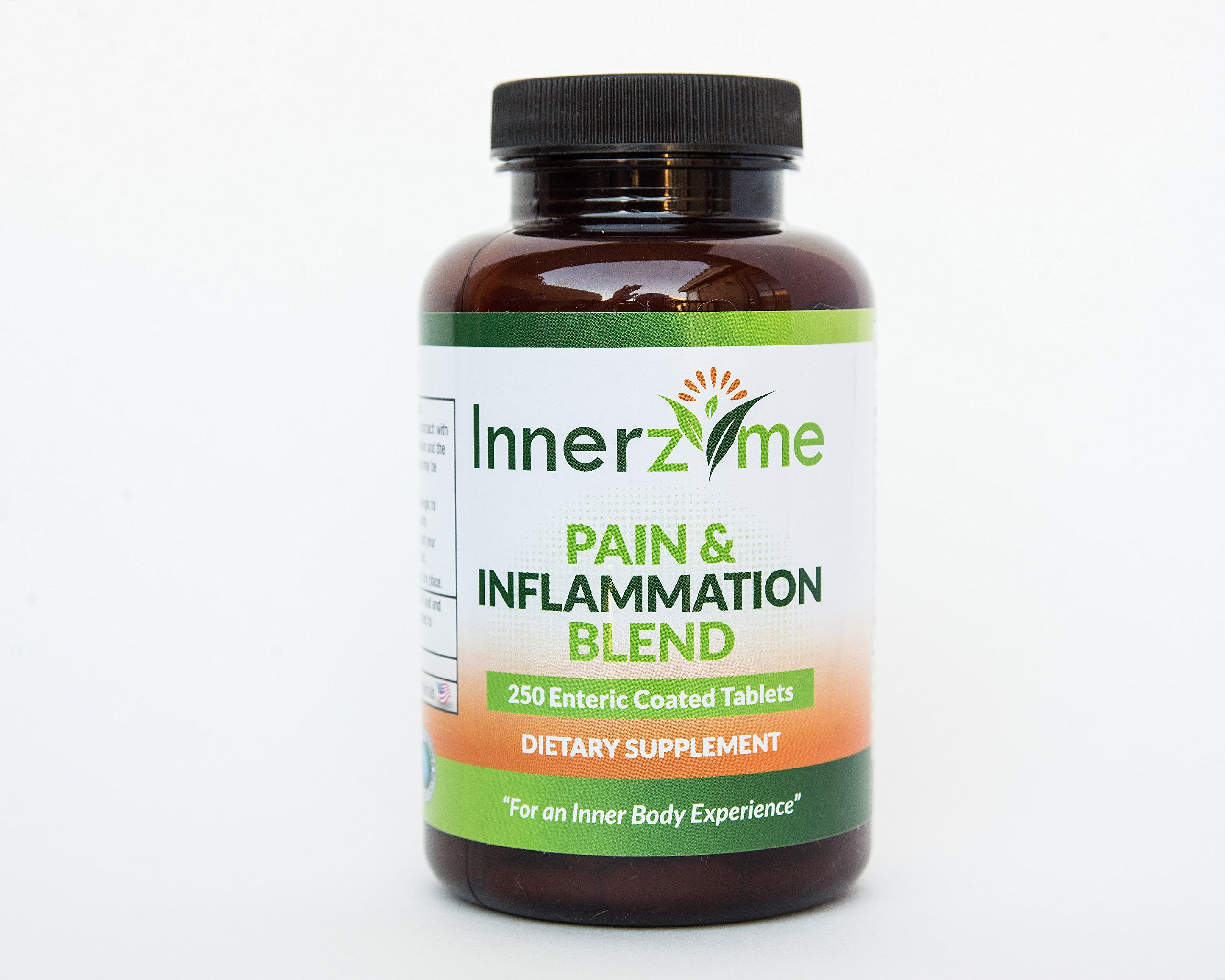 Innerzyme Pain & Inflammation Blend -- 250 Tablets - 3PC