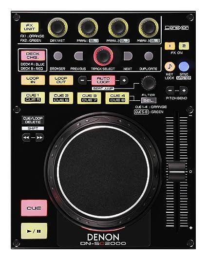 Denon Dj DN-SC2000 único 2 cubierta controlador MIDI