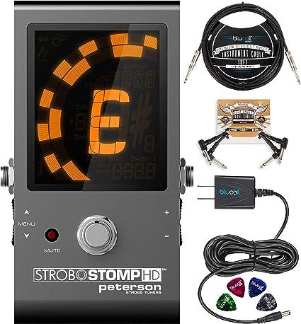 Peterson SC-HD Sintonizador de clip 1,75 color negro