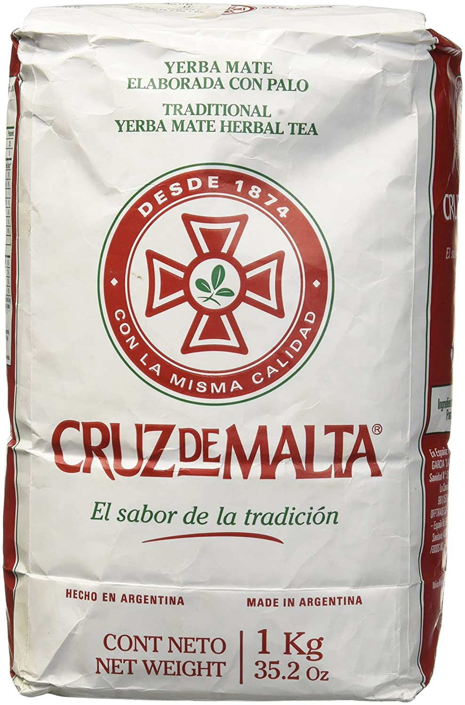 Amazon.com : Cruz Malta Mate, Yerba, 35.2-Ounce (Pack of 3) : Nutrition Beverages : Grocery & Gourmet Food