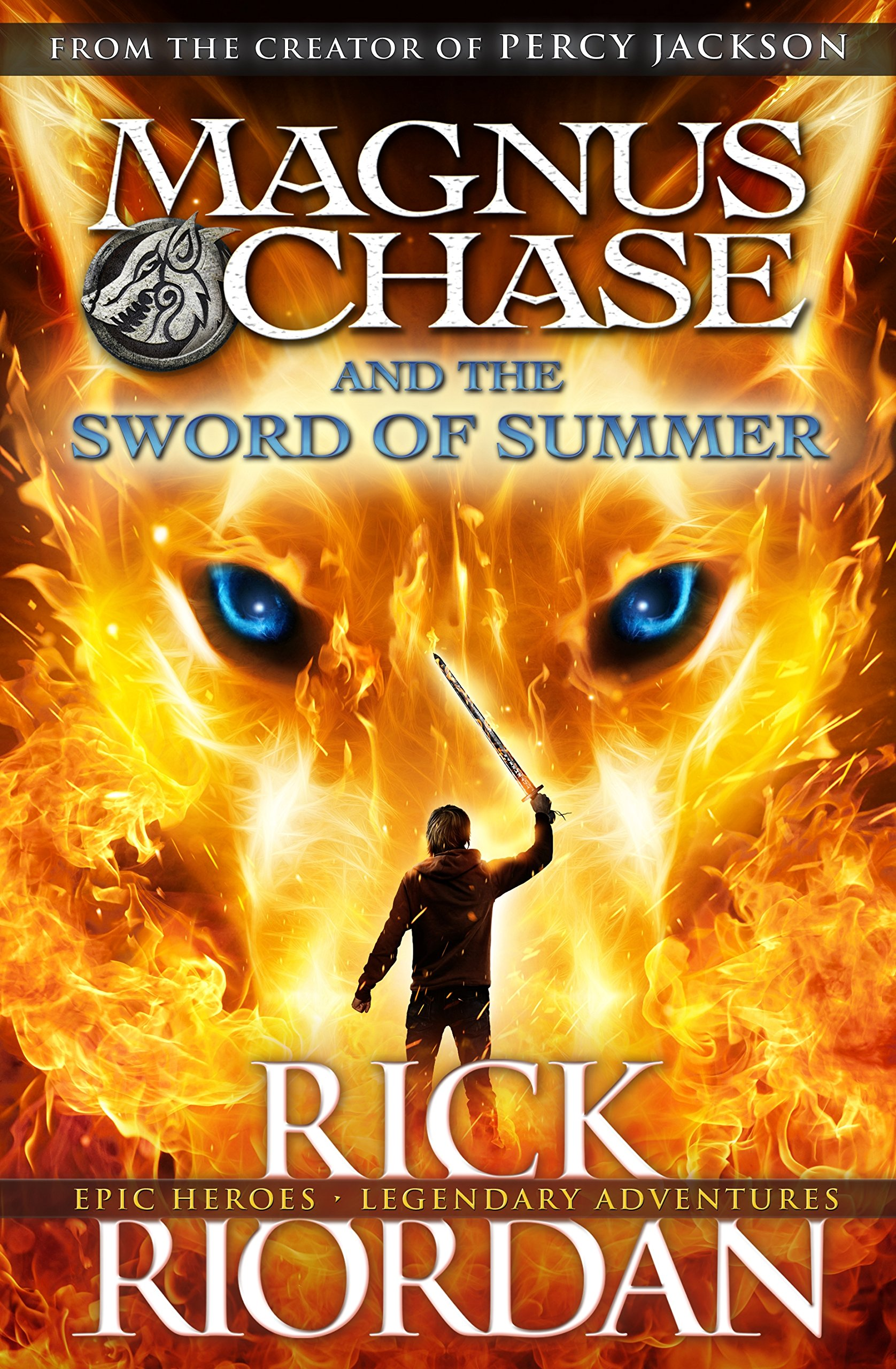 Magnus Chase And The Sword Of Summer (book 1): Amazon: Rick Riordan:  9780141342412: Books