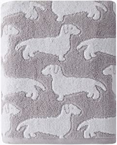 SKL HOME by Saturday Knight Ltd. Dog Bath Towel, Gray