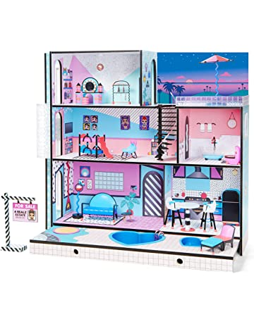 Modern Style Dolls Office Furniture Set Colorful Plastic Dolls Office Decoration Accessories Model Toy Kids Pretend Play Toys & Hobbies Furniture Toys
