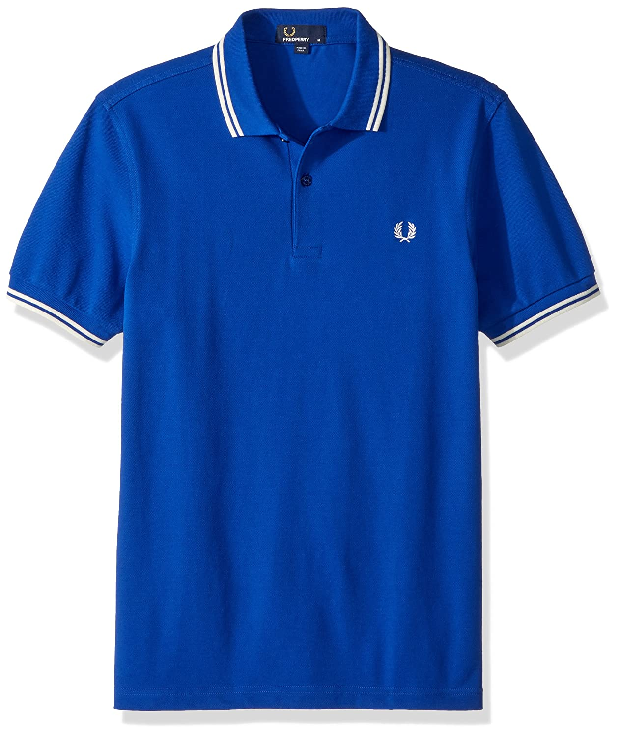 Bleu (Regal Ecru F80) M Frouge Perry Twin Tipped Shirt Polo Homme