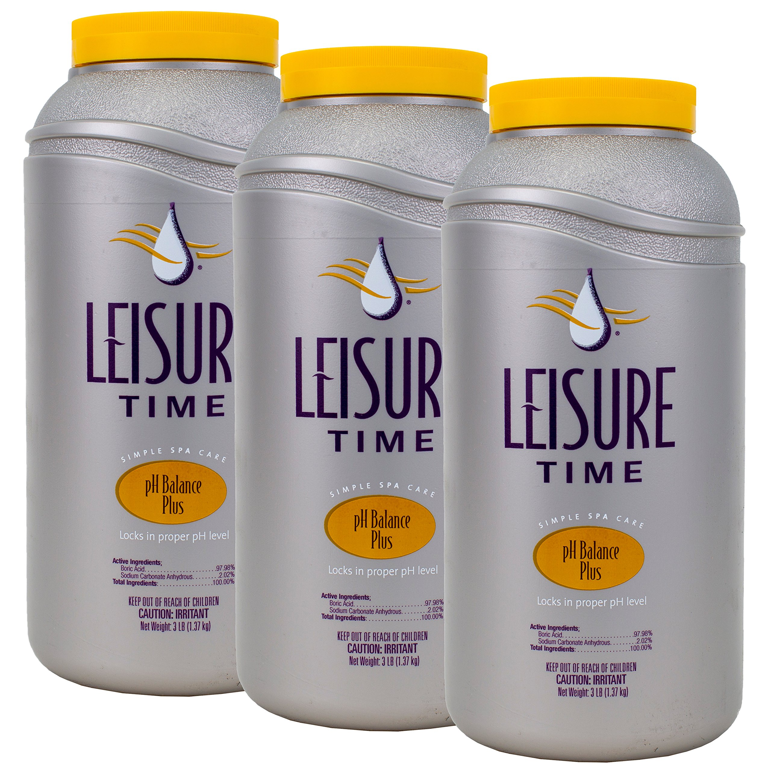 Leisure Time PH Balance Plus (3 lb) (3 Pack) by LEISURE TIME