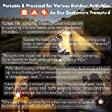DealBang Led Tent Lights for Camping Hiking Battery Operated LED Emergency Light for Hurricane Storm, Outage