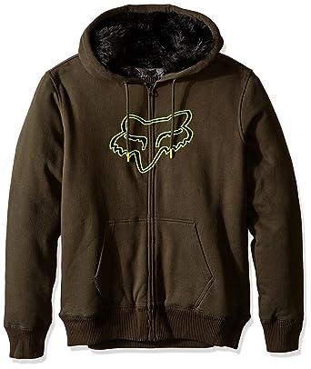 6e77a0b4 Amazon.com: Fox Racing Men's Konstant Sasquatch Fleece Hoody Zip ...