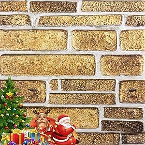 Yenhome 3D Wall Panels Brick Wall Panels 11.8