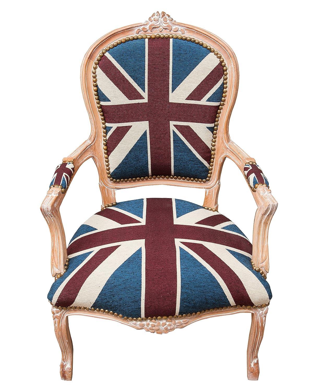 Biscottini sillón Estilo Francés Luis XVI de Madera Maciza ...