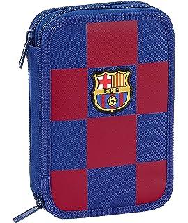 FCB FC Barcelona Estuche, Niños Unisex, Azul Marino, 12.5x20.5x6: Amazon.es: Ropa y accesorios