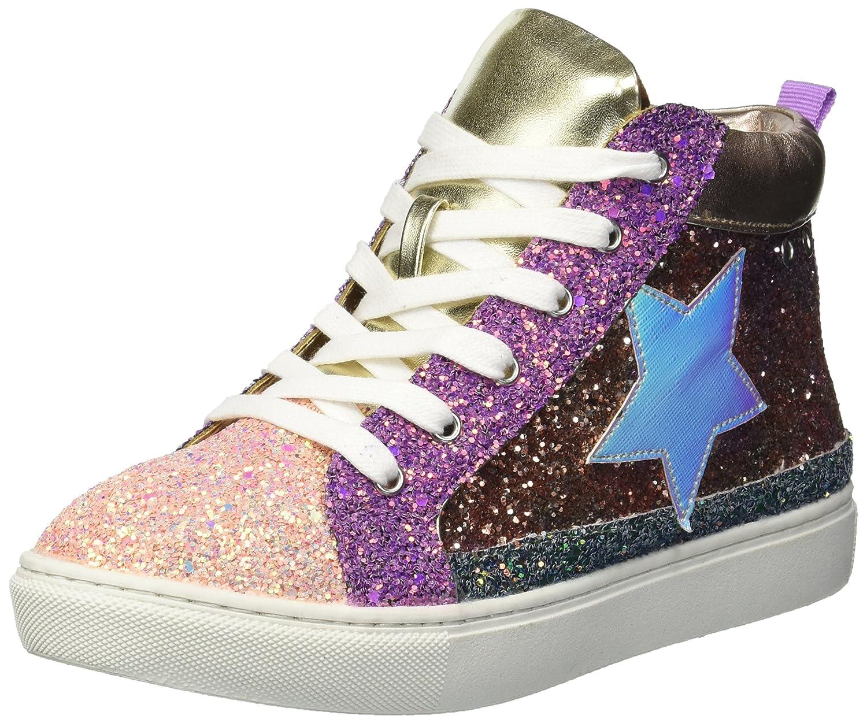 09439606706 Amazon.com | Steve Madden Girls' JHGHSTAR Sneaker, Bright Multi, 2 M ...
