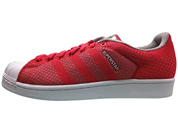 adidas Men's Superstar Weave Pack Red/White/Black S77929 (Size: ...