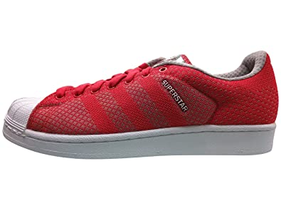 e3aa99c9fb30 adidas Men s Superstar Weave Pack Red White Black S77929 (Size  11 ...