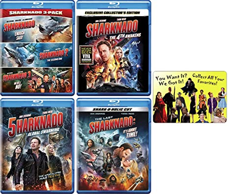 Sharknado: Complete Disaster Horror Comedy Film Franchise Blu-ray ...