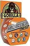 "Gorilla Clear Repair Duct Tape, 1.88"" x 9 yd., Clear"