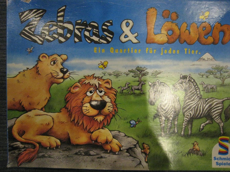 Schmidt Spiele 40367 - Zebras und Löwen
