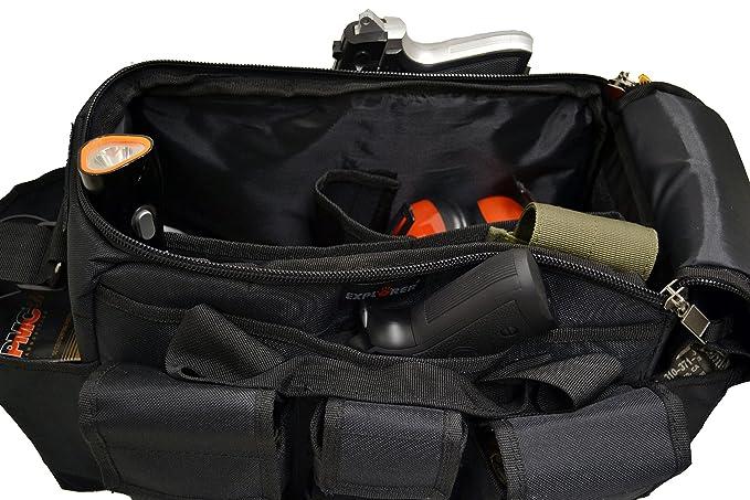 da9702a649 Amazon.com   Explorer Tactical Range Bag Bail Out Bag Police Gear Bag  Patrol Bag Hunting Shooting Bag   Hunting Game Belts And Bags   Sports    Outdoors