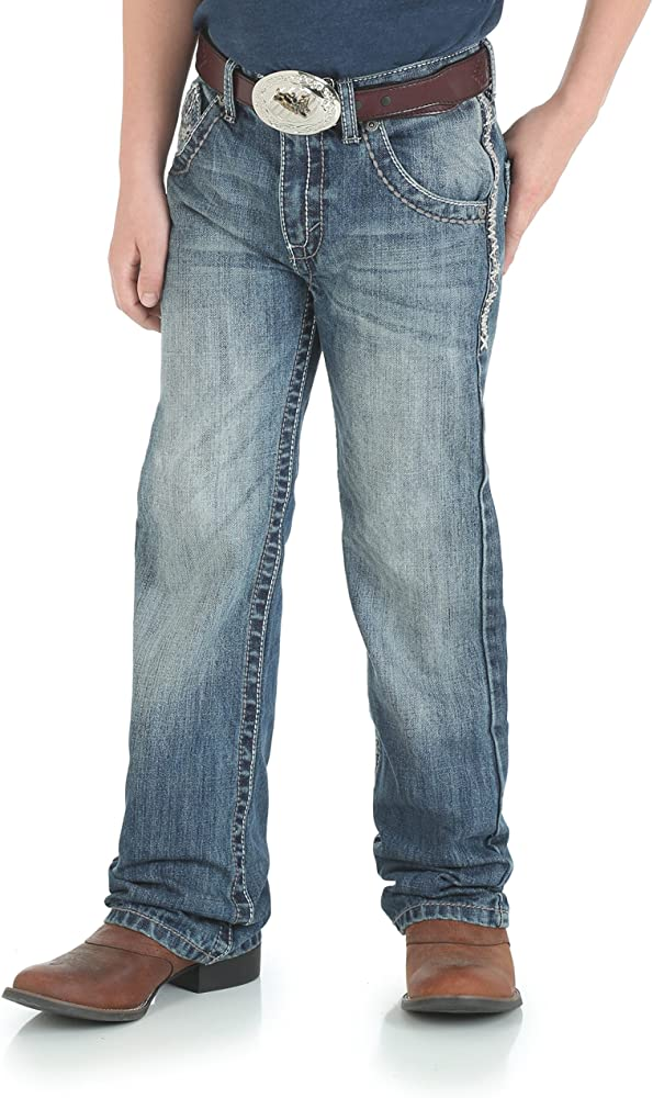 6631ca2a Wrangler Boys' Little 20x Vintage Boot Cut Jean, Breaking Barriers, ...