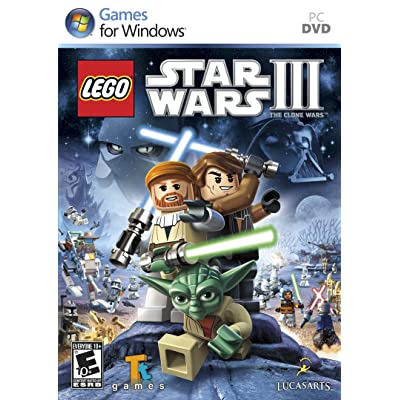 LEGO Star Wars III The Clone Wars - PC: Video Games