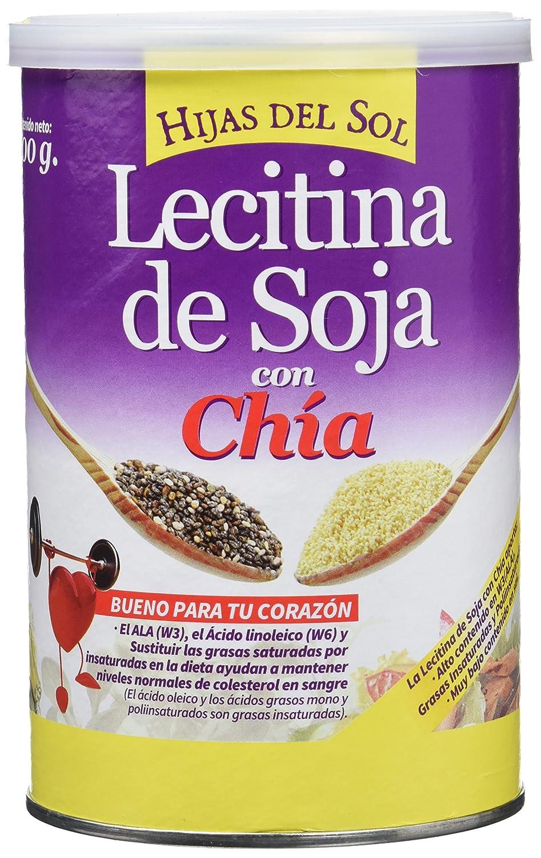 Hijas Del Sol Lecitina de Soja con Chía - 200 gr - [Pack de 2 ...