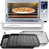 NUWAVE BRAVO XL 1800-Watt Convection Oven with Crisping and Flavor Infusion Technology (FIT) with Integrated Digital Temperat