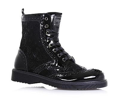Liu Jo Black lace-up boot 5940eabb88f