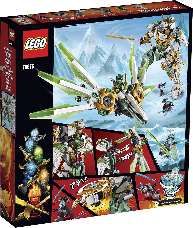 Amazon.com: LEGO Ninjago Titan Mech 70676 Kit de ...