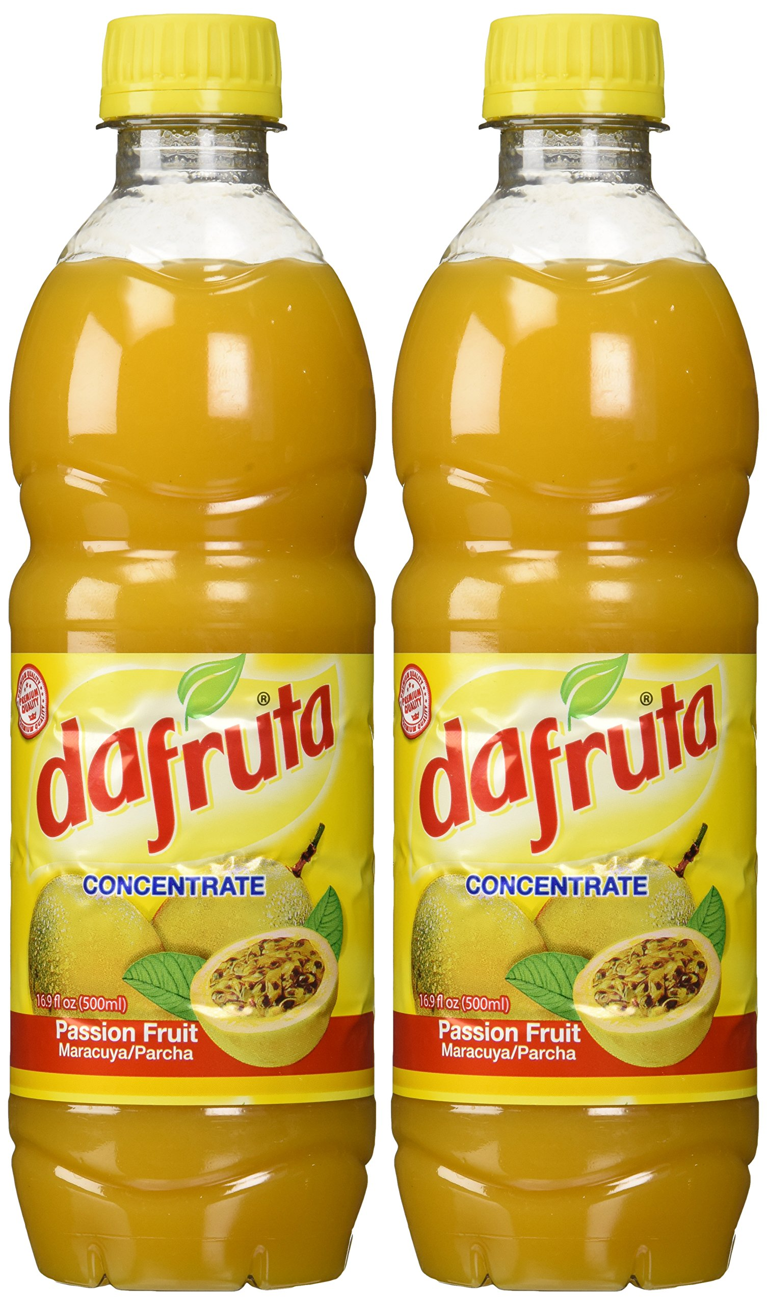 Dafruta Passion Fruit Juice Concentrate - 16.9 FL.Oz | Suco Concentrado de Maracujá Dafruta