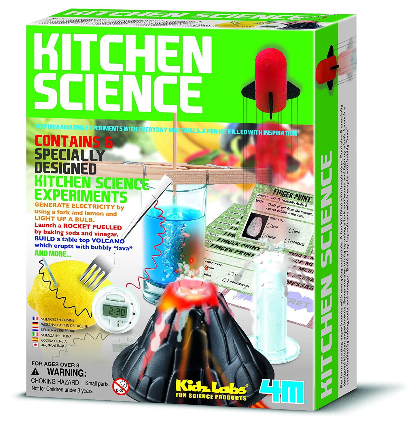 4M Kidz Labs Kitchen Science Great Gizmos Amazon Toys & Games