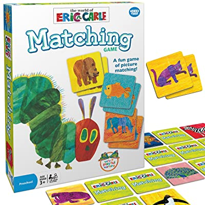 Wonder Forge Eric Carle Matching Game For Boys & Girls Age 3 To 5 - A Fun & Fast Animal Memory Game: Toys & Games