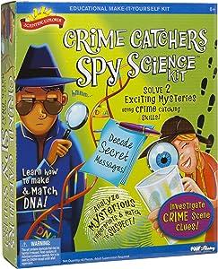 Scientific Explorer Scientific Explorer Crime Catchers Spy Science Kit Kids Science Kit