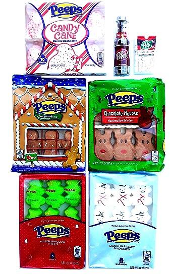 Christmas Flavors.Peeps Christmas Flavors Bundle Amazon Com Grocery