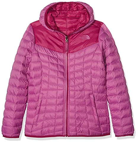 4fdaf51e20 North Face Mädchen G Reversible Thermoball Hoodie Jacke Lila - Wisteria  Purple L