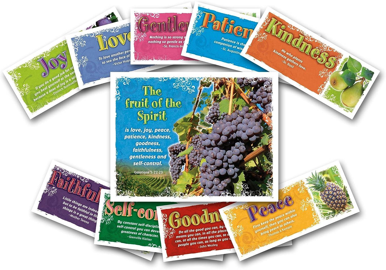 NORTH STAR TEACHER RESOURCE Fruit of The Spirit Bulletin Board Set
