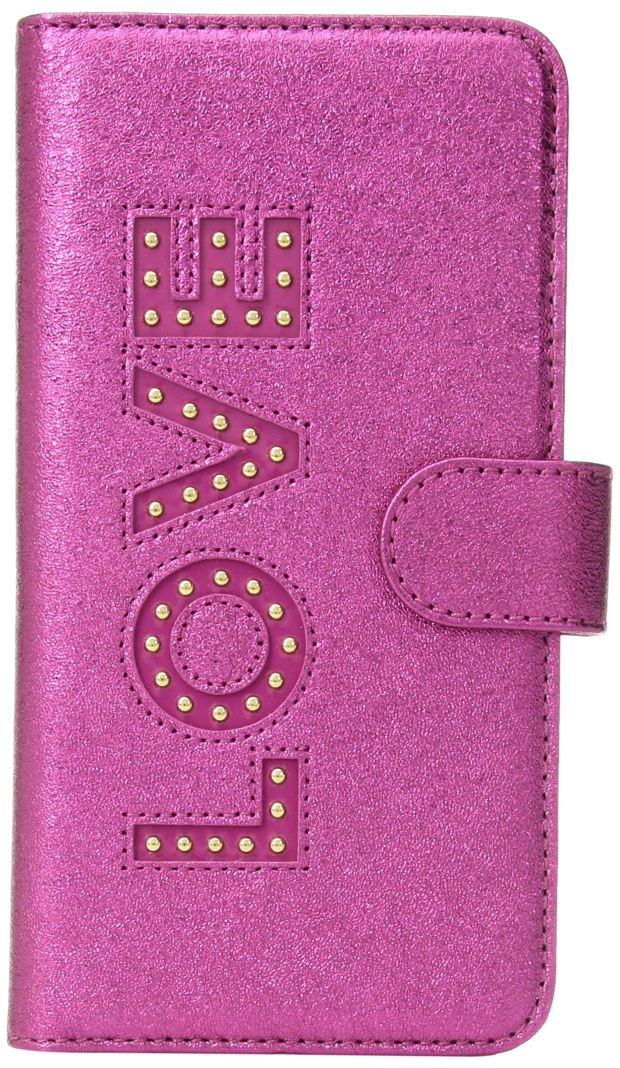 Michael Kors Love Folio Phn Cse Tab 7+, Ultra Pink