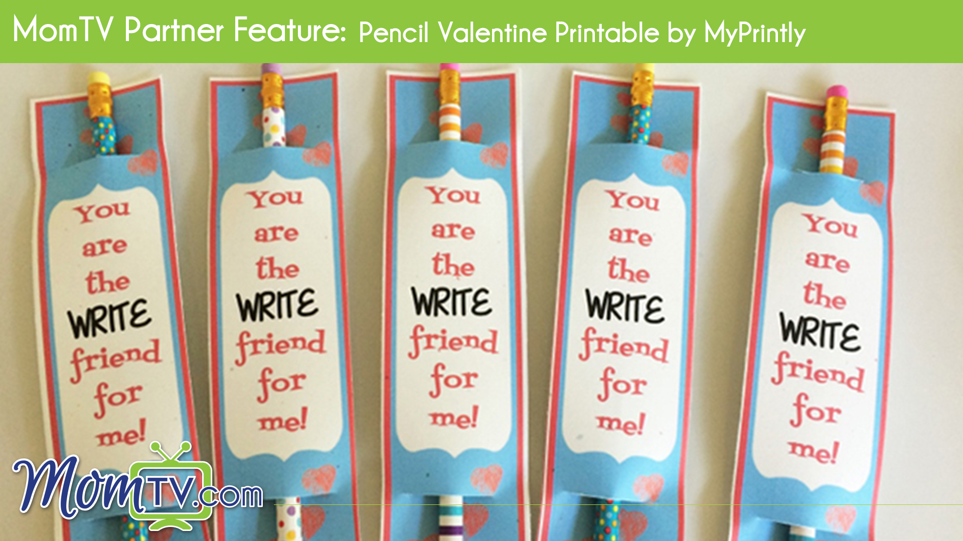 image about Pencil Valentine Printable identify MomTV Husband or wife Function: Pencil Valentine Printable by means of MyPrintly
