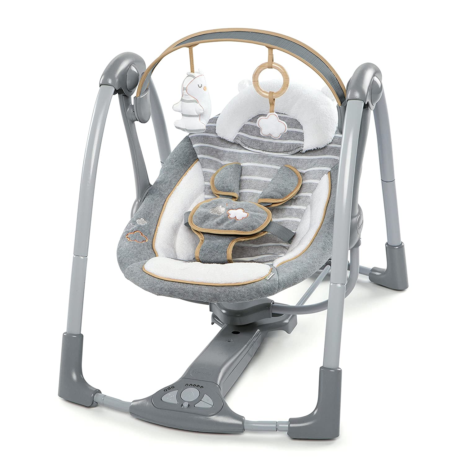 Ingenuity, Balancelle Compacte Swing and Go - Boutique Collection - Arabella KIDFF 10287-2